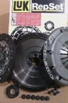VOLKSWAGEN VW TRANSPORTER T5 1.9 TDI NEW FLYWHEEL + LUK CLUTCH